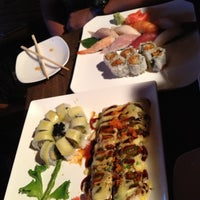 Photo taken at Wasabi Japanese Restaurant by Rebecca C. on 5/11/2012