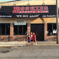 Photo taken at Rookie's Sports Club by Bradley on 9/1/2012