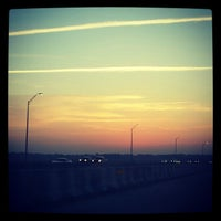 Photo taken at Henry Holland Buckman Bridge by KT on 4/9/2012