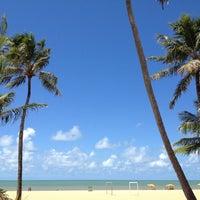 Photo taken at Praia de Tambaú by Ana Paula D. on 4/16/2012