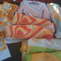 Photo taken at Taco Bell by Amanda C. on 3/16/2012