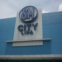 Photo taken at SM City Lipa by Rex R. on 7/14/2012