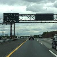 Photo taken at New Jersey Turnpike - Port Reading by Matt H. on 6/4/2012