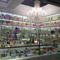 Photo taken at Ladurée by Andrea M. F. on 3/10/2012