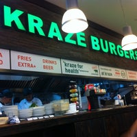 Photo taken at Kraze Burgers by Debbie Y. on 6/23/2012