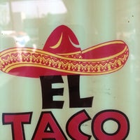 Photo taken at El Taco by Doug R. on 2/25/2012
