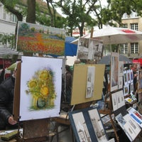 Photo taken at Place du Tertre by Paris on Demand on 8/25/2011