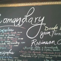 Photo taken at Comandary Restaurant by Jorge J. on 1/5/2012