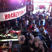 Photo taken at Hockeytown Cafe by David E. on 7/20/2012