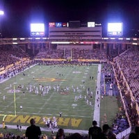 Photo taken at Sun Devil Stadium by Sam P. on 9/10/2011