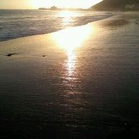 Photo taken at Amarillo Beach by Sandie E. on 1/23/2012