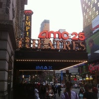 Photo taken at AMC Empire 25 by Irene S. on 9/8/2011