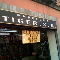Photo taken at Papeleria Tiger by Damien D. on 11/5/2011