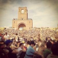 Photo taken at Stadio Renato Dall'Ara by Riccardo T. on 6/25/2012