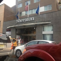 Photo taken at Sheraton Tribeca by Andrew S. on 5/26/2012