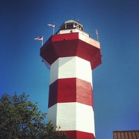 Photo taken at Harbour Town Lighthouse by Brandon P. on 7/10/2012