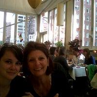 Photo taken at Serafina Fabulous Pizza by Julien G. on 10/23/2011