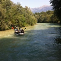 Photo taken at George Best Bar by Adventure Rafting Bled R. on 8/30/2011