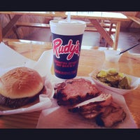 Photo taken at Rudy's Country Store And BBQ by Rich B. on 8/31/2012