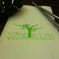 Photo taken at Simple Life by Brandon Y. on 7/30/2011