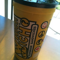 Photo taken at Which Wich? Superior Sandwiches by Josh L. on 10/4/2011
