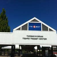 Photo taken at TriMet Tigard Transit Center by Alejandro on 6/27/2012