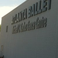 Photo taken at Michael C. Carlos Dance Centre - Atlanta Ballet by Plez J. on 5/5/2012