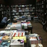 Photo taken at Diwan Bookstore by Ezzeddine J. on 5/30/2011
