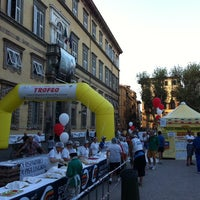 Photo taken at Piazza Napoleone by Marco B. on 9/10/2011
