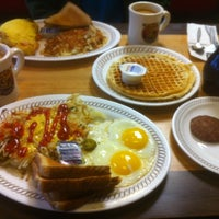 Photo taken at Waffle House by Katie G. on 12/19/2011