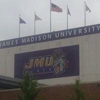 Photo taken at James Madison University by Mark J. on 5/6/2012