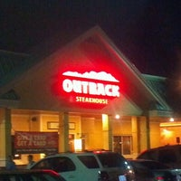Photo taken at Outback Steakhouse by Champ P. on 11/17/2011