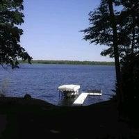 Photo taken at Boy Lake by Andy R. on 7/7/2012