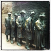 Photo taken at Franklin Delano Roosevelt Memorial by Kendra O. on 7/15/2012