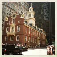 Photo taken at Old State House by Chris M. on 8/4/2012