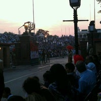 Photo taken at Wagah Border - India Pakistan Border by B S. on 11/21/2011