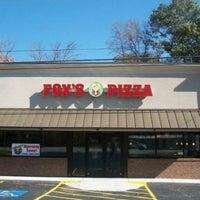 Photo taken at Fox's Pizza by Rachel B. on 11/11/2011