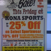 Photo taken at Kona Sports by Brandon K. on 7/22/2011