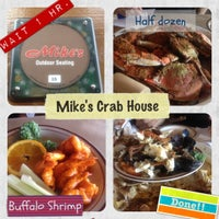 Photo taken at Mike's Crabhouse by Piriya W. on 6/3/2012