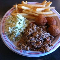 Photo taken at Smoky Mountain Barbeque by Joshua R. on 2/13/2012