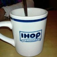 Photo taken at IHOP by Steve A. on 1/7/2012