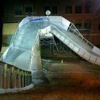 Photo taken at Red Bull Crashed Ice 2014 by Joel T. on 1/14/2012