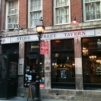 Photo taken at Stone Street Tavern by Silvia C. on 2/28/2012