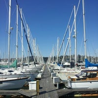 Photo taken at Sausalito Yacht Club by Rickey C. on 7/7/2012