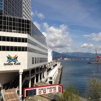 Photo taken at The Fairmont Waterfront by Nan L. on 5/24/2012