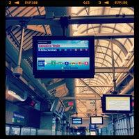 Photo taken at JFK AirTrain - Federal Circle Station by Dan B. on 3/31/2012