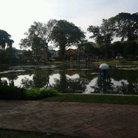 Photo taken at Taman Situ Lembang by Cholies C. on 7/15/2012