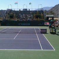 Photo taken at Indian Wells Tennis Garden by Paul R. on 3/9/2012