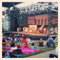 Photo taken at Shawnee Mission Theater In The Park by Michael H. on 7/21/2012