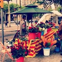 Photo taken at Avinguda de Josep Tarradellas by Niels v. on 4/23/2012